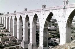 70s AQUEDUTO AGUAS LIVRES LISBOA PORTUGAL 35mm DIAPOSITIVE SLIDE Not PHOTO No FOTO B3323 - Diapositives (slides)