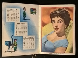 CALENDARIETTO 1956 ATTRICI - Autres Collections