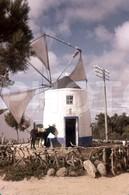 70s WINDMILL MOULIN MOINHO PORTUGAL 35mm DIAPOSITIVE SLIDE Not PHOTO No FOTO B3324 - Diapositives (slides)