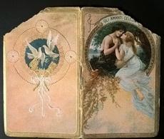 CALENDARIETTO 1921 AMANTI CELEBRI - Calendari