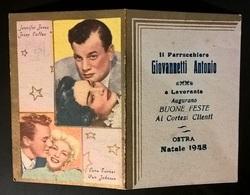 CALENDARIETTO 1948 CINEMA - Calendriers