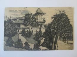 Băile Govora-Vila Bereșteanu,Romanian Used Postcard From 1922 - Romania