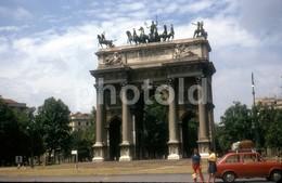 1969 FIAT 850 ROMA ITALIA ITALY 35mm DIAPOSITIVE SLIDE Not PHOTO No FOTO B3328 - Diapositives (slides)