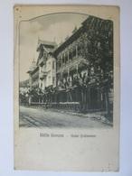 Băile Govora-Hotel Ștefănescu,Romanian Used Postcard From 1930 - Romania