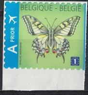 Belgique 2012 Sur Fragment Used Papillon Butterfly Papilio Machaon SU - Belgien