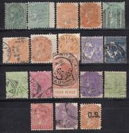 SÜDAUSTRALIEN - MiNr: Partie 18x  Used - 1855-1912 South Australia