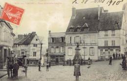27 Normandie Pont De L'arche Place Yacinthe Langlois Attelage - Pont-de-l'Arche