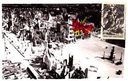 Photographie De La Place Jean Bart à Dunkerque Après Les Bombardements Allemands De Mai-juin 1940 - Dunkerque