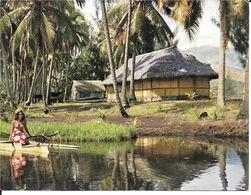 TAHITI  -  SPLENDEURS EXOTIQUES ,  PUBLICITE  Du  LABORATOIRE   SERVIER .  , - Tahiti