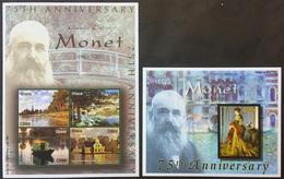 # Ghana 2001 Mi.3304-08 Painting- Claude Monet ,MNH [24;35] - Art