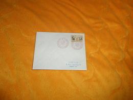 ENVELOPPE UNIQUEMENT DE 1958. / TUNISIE. CACHETS PARTICIPATION DE LA TUNISIE A L'EXPOSITION UNIVERSELLE BRUXELLES - Tunisie (1956-...)