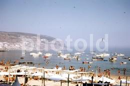 1974 PRAIA SESIMBRA PORTUGAL  AMATEUR 35mm DIAPOSITIVE SLIDE Not PHOTO No FOTO B3340 - Diapositives (slides)