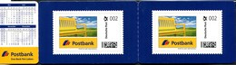 """(1839) Postbank PORTOCARD INDIVIDUELL, 2x 002 Cent, Postfrisch In Klappkarte, """"Ein Gutes Jahr 2015"""" - [7] West-Duitsland"""