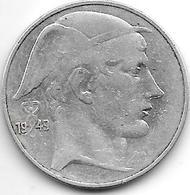 *Belguim 20 Francs 1949 Dutch Vf+ - 1945-1951: Regency