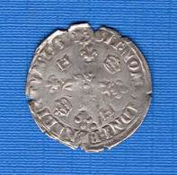 Henri  2  Lyon  Douzain  1550 - 987-1789 Monnaies Royales