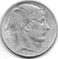 *Belguim 20 Francs 1953 Dutch Vf+ - 07. 20 Francs