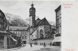 AK 0134  Innsbruck - Hoifkirche / Verlag Stengel & Co Um 1900-1910 - Innsbruck