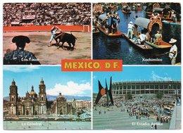 MEXICO D.F. - LOS TOROS, LA CATEDRAL, XOCHIMILCO, EL ESTADIO AZTECA / STADIUM / STADE / STADION / STADIO - Messico