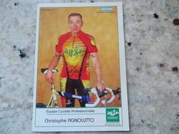 CPM Equipe Cycliste Professionnelle AG2 R Prévoyance Christophe Agnolutto - Radsport