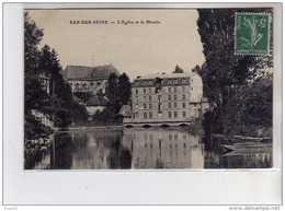 BAR SUR SEINE - L'Eglise Et Le Moulin - Très Bon état - Bar-sur-Seine