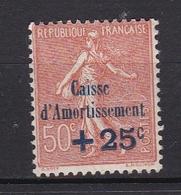 FRANCE Timbre N° 254* - Frankreich