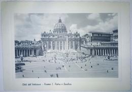 Citta Del Vaticano, Piazza S. Pietro E Basilica, Italy - Vatican