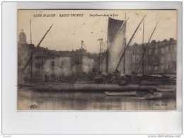 SAINT TROPEZ - Torpilleurs Dans Le Port - Très Bon état - Saint-Tropez