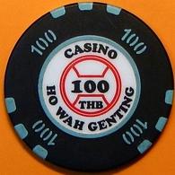 100 Casino Chip. Ho Wa Genting, Poipet, Cambodia. N40. - Casino