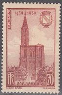 FRANCE     SCOTT NO. 391    MNH    YEAR  1939 - France