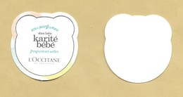 Carte Parfumée Perfume Card KARITE BEBE * L'OCCITANE * R/V - Perfume Cards