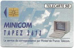 Telecarte 50 - Minicom - Téléphones