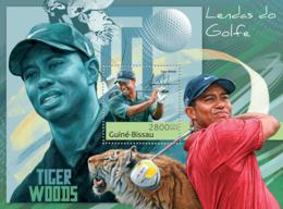 Guinea Bissau 2012 Golf Legends ( Tiger Woods ) - Guinea-Bissau