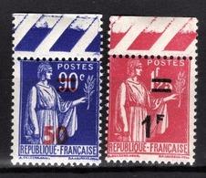 FRANCE 1941 - Y.T. N° 482 ET 483 - NEUFS** - France