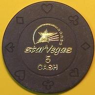 $5 Casino Chip. Star Vegas, Poipet, Cambodia. N41. - Casino