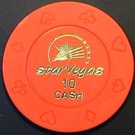 $10 Casino Chip. Star Vegas, Poipet, Cambodia. N41. - Casino
