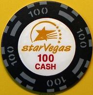 $100 Casino Chip. Star Vegas, Poipet, Cambodia. N41. - Casino