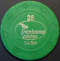 $25 Casino Chip. Tropicana, Poipet, Cambodia. N41. - Casino