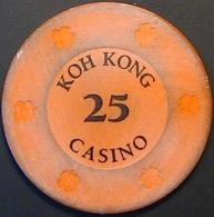$25 Casino Chip. Koh Kong Casino, Koh Kong, Cambodia. N41. - Casino