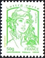 France Marianne De La Jeunesse Par Ciappa Et Kawena N° 4775 ** Le Gommé 50 Grammes  Lettre Verte - 2013-... Marianne (Ciappa-Kawena)