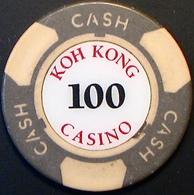$100 Casino Chip. Koh Kong Casino, Koh Kong, Cambodia. N41. - Casino