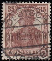 GERMANY - Scott #101 Germania / Used Stamp - Germany