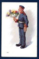 Tuck's Postkarte  Serie Krieg Im Frieden. Feldpost Bayreuth, Vereinslazarett - Bayreuth.  Janvier 1918 - Militaria