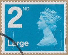 GB SG U2959 2011 Machin 2nd Large MA11 MAIL Good/fine Used [39/31859/ND] - 1952-.... (Elizabeth II)