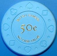 50¢ Casino Chip. Matsui Gaming, Tokyo, Japan. N42. - Casino