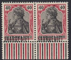 SAAR - SARRE - 1920 - Coppia Di Yvert 41 Nuovi MNH Con Margine Di Foglio. - 1920-35 Saargebiet – Abstimmungsgebiet