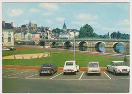 1231/ VIERZON. Le Pont Sur L'Yèvre.- Voitures, Cars, Coches, Macchine.- Non écrite. Unused. No Escrita. Non Scritta. - Vierzon