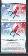 Poland. Scott #  MNH Pair. 70th Years Of Independence. Joint Issue With Israel  2018 - Joint Issues