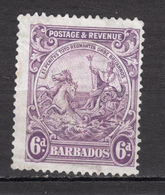 ##19, Barbades, Barbade, Barbados, Cheval Sirene, Mermaid Horse, George V - Barbades (1966-...)