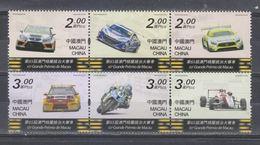 Macau/Macao 2018 The 65th Macao Grand Prix Stamps 6v MNH - 1999-... Région Administrative Chinoise