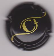 Capsule Champagne CHAUMONT François ( 75 ; Noir Et Or ) {S04-19} - Champagne